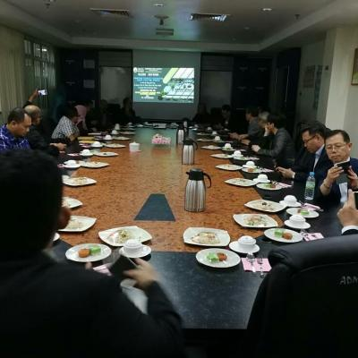 Delegation from Korean Company - Innitiate collaboration for 'EV Design' dan 'EV Battery Technology'