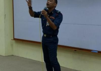 Fire Safety Talk and Demonstration by Bomba Kulim Hi-Tech